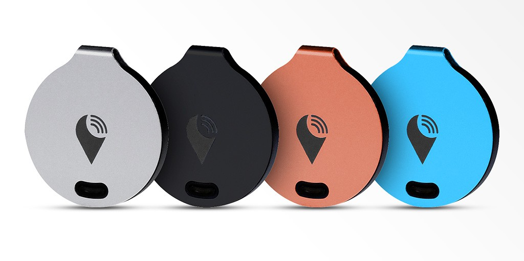 Trackr differents coloris