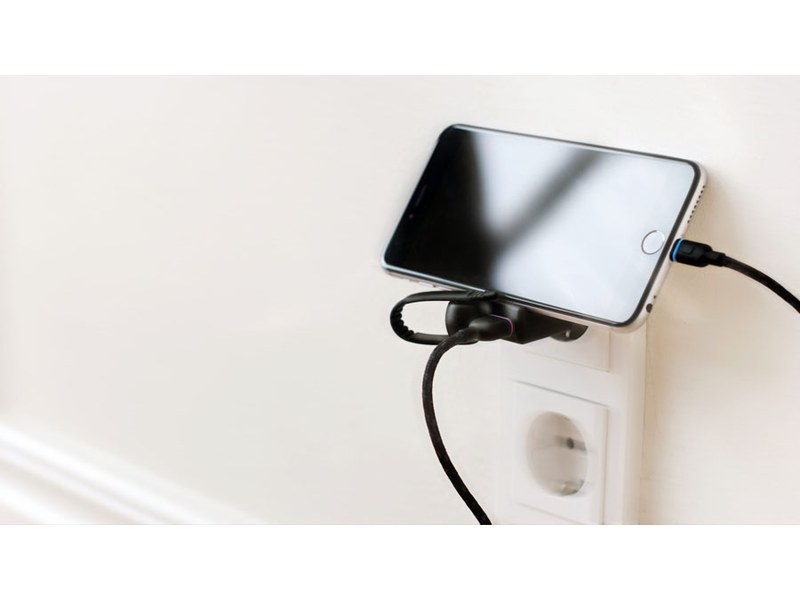Unisynk High Power Charger Lightning - Chargeur iPhone USB 2,4 A