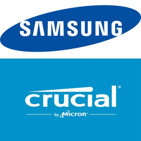 Samsung vs Crucial HDD