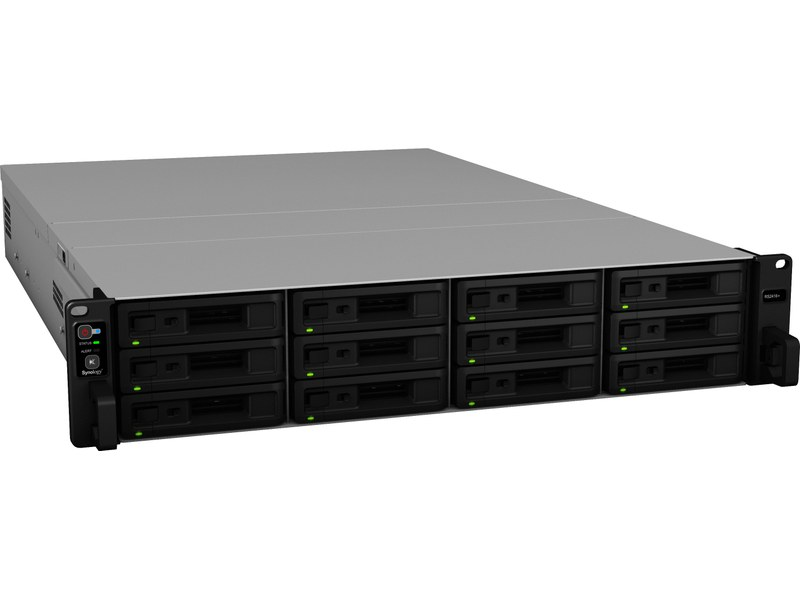 Face avant du NAS RS2418+ de Synology