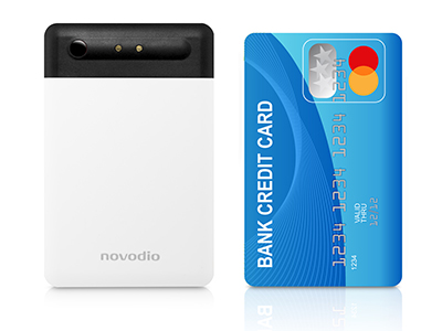 Novodio Power Card format carte de crédit